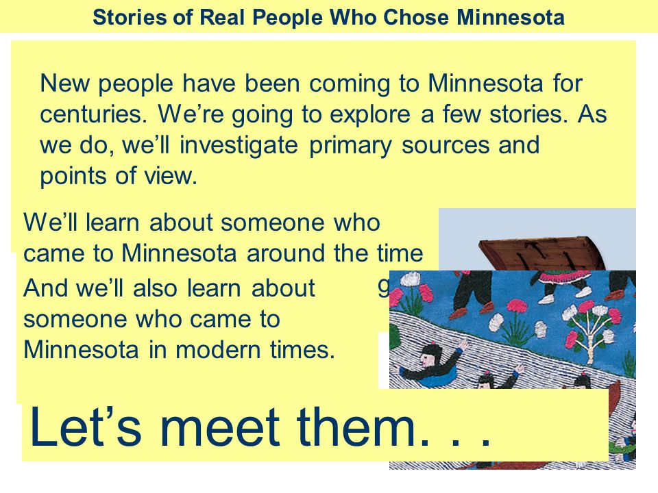 Stories of Real People Who Chose Minnesota