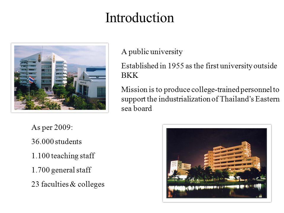 Introduction A public university