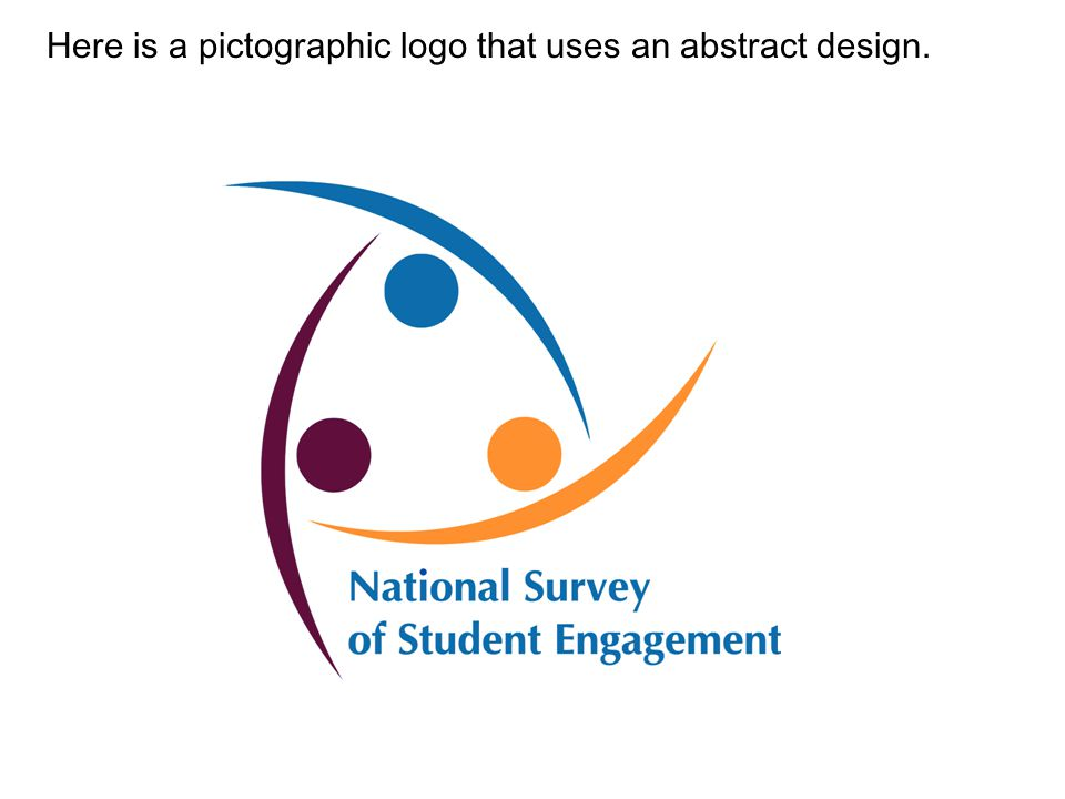 Here is a pictographic logo that uses an abstract design.