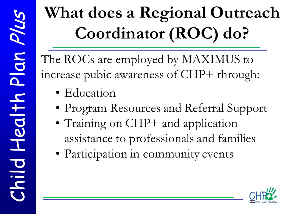 What does a Regional Outreach Coordinator (ROC) do