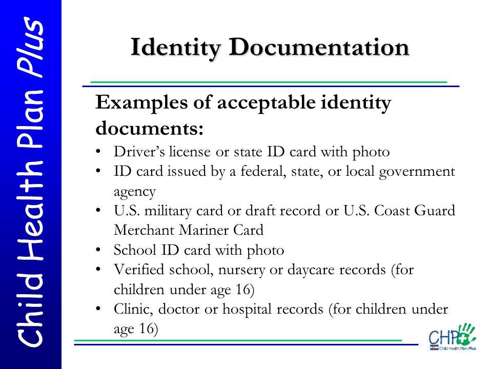 Identity Documentation