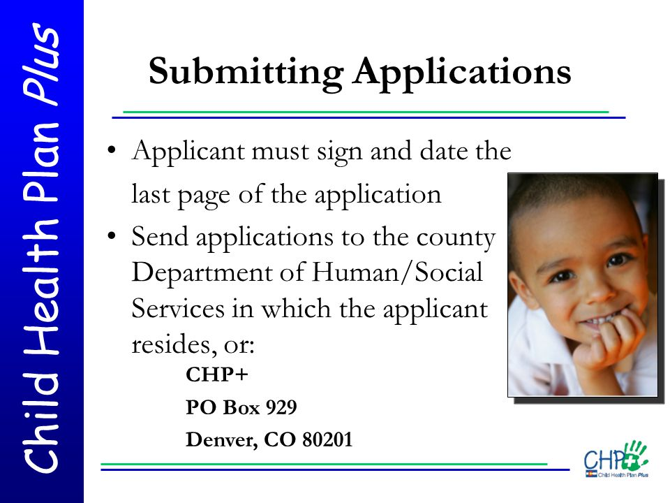 Submitting Applications