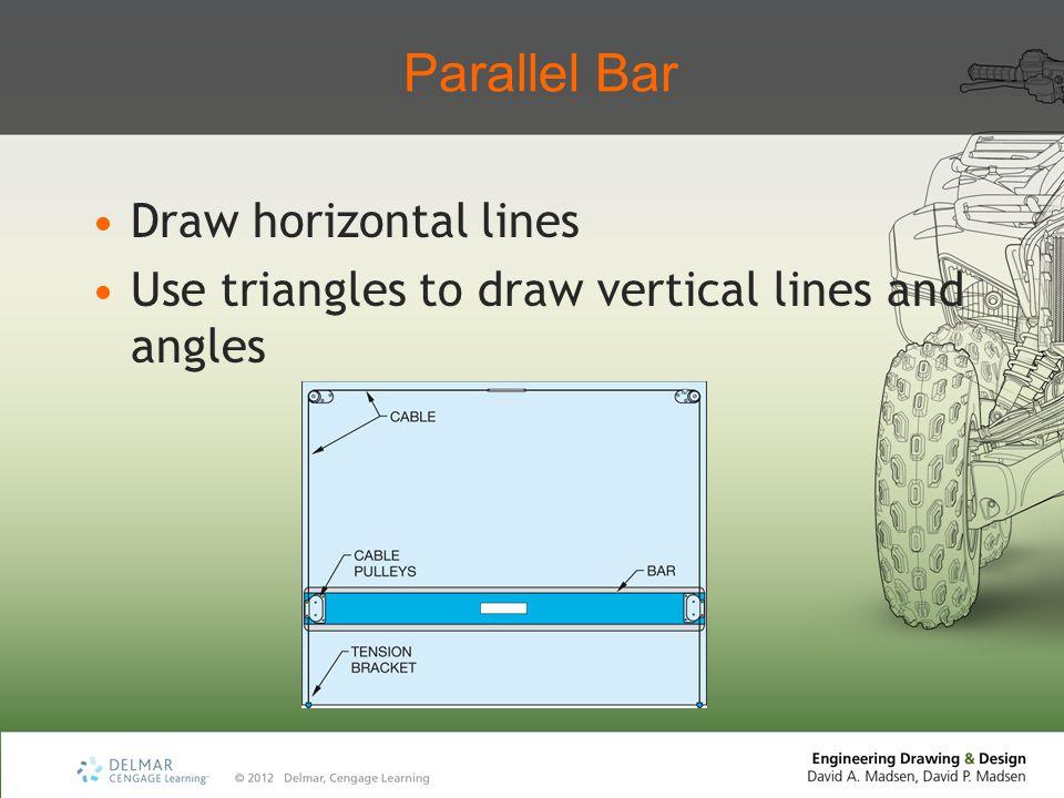 Parallel Bar Draw horizontal lines