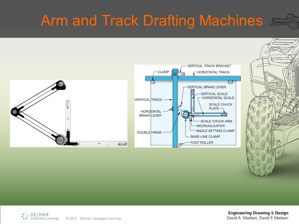Arm and Track Drafting Machines