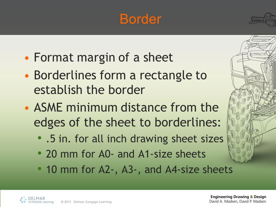 Border Format margin of a sheet