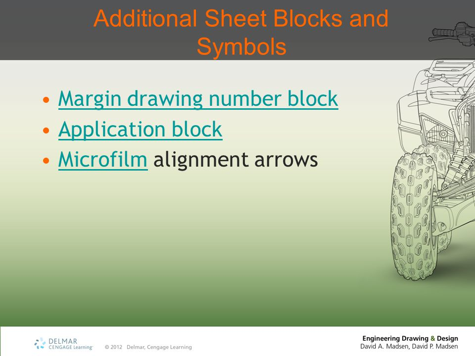 Additional Sheet Blocks and Symbols
