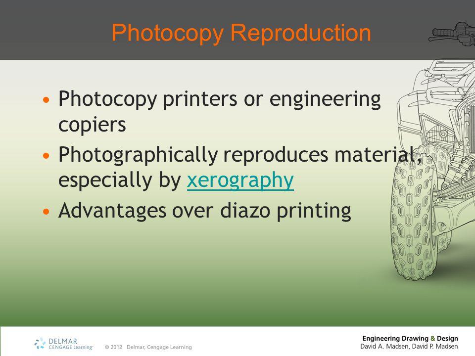 Photocopy Reproduction