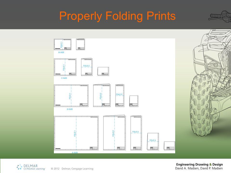 Properly Folding Prints