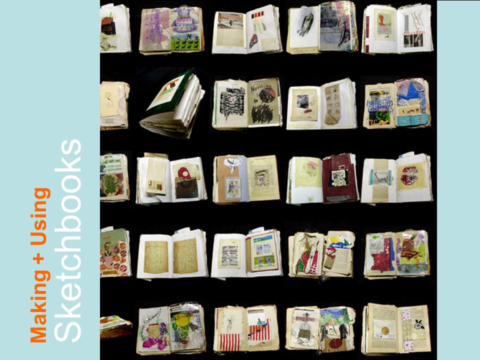Making + Using Sketchbooks