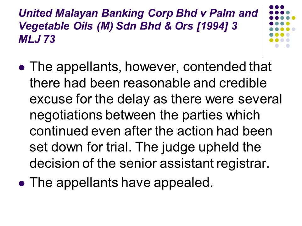 The appellants have appealed.