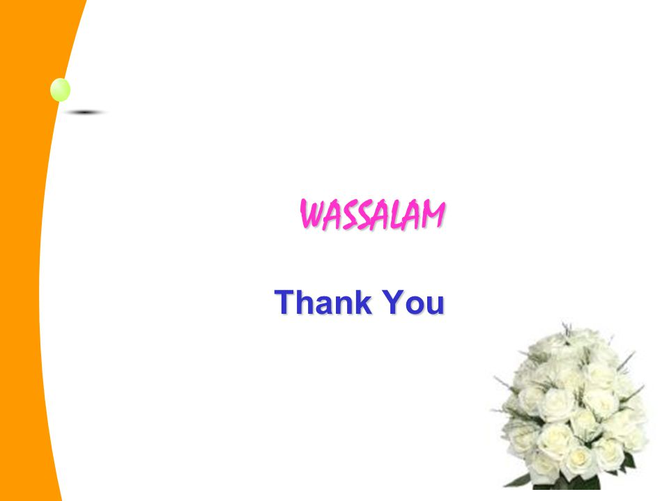 WASSALAM Thank You