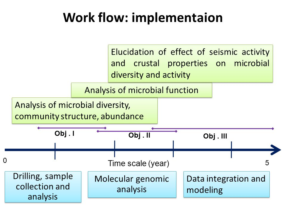 Work flow: implementaion