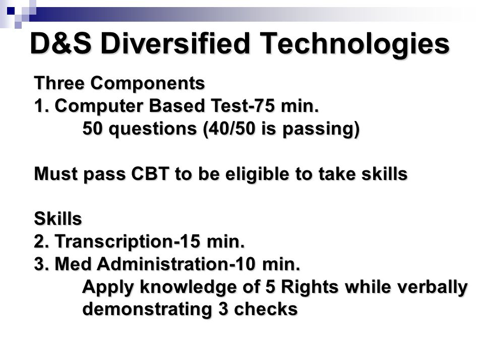 D&S Diversified Technologies
