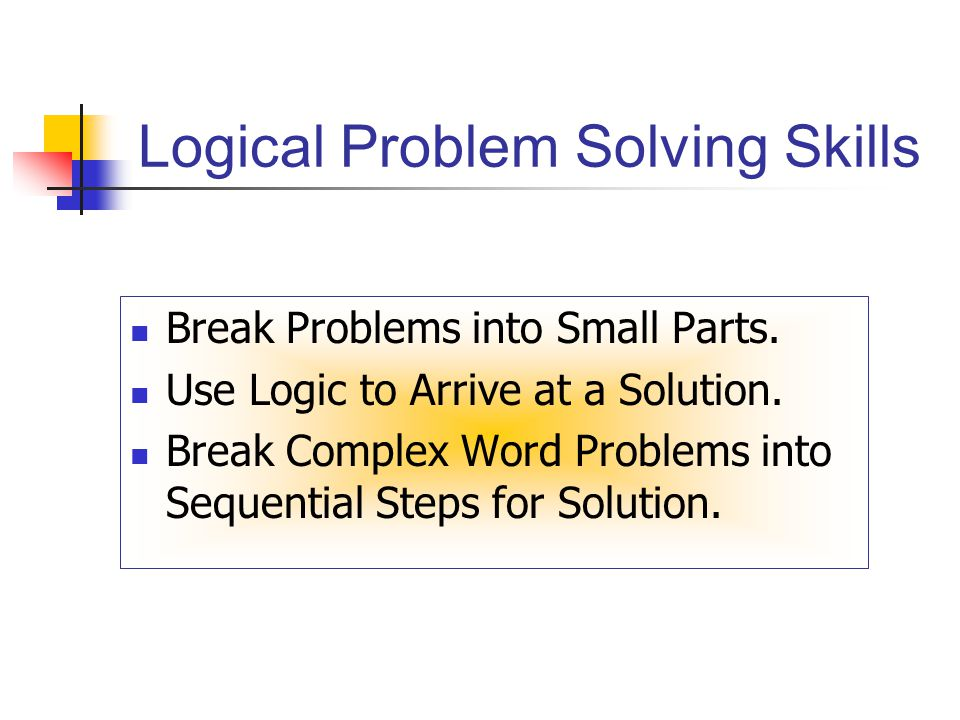 logic problems If your child is intimidated by math and logic problems, these logic puzzles worksheets will make him love exercising his brain get him started immediately.