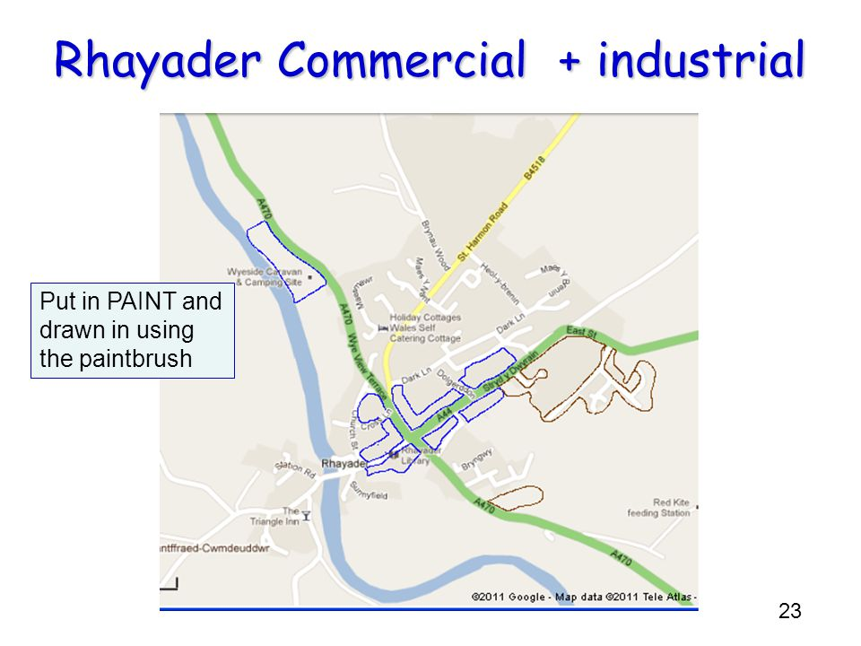 Rhayader Commercial + industrial