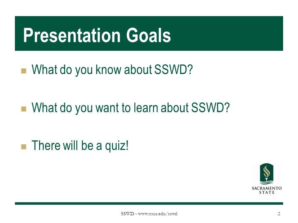 SSWD - www.csus.edu/sswd