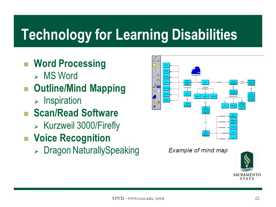 Technology for Learning Disabilities