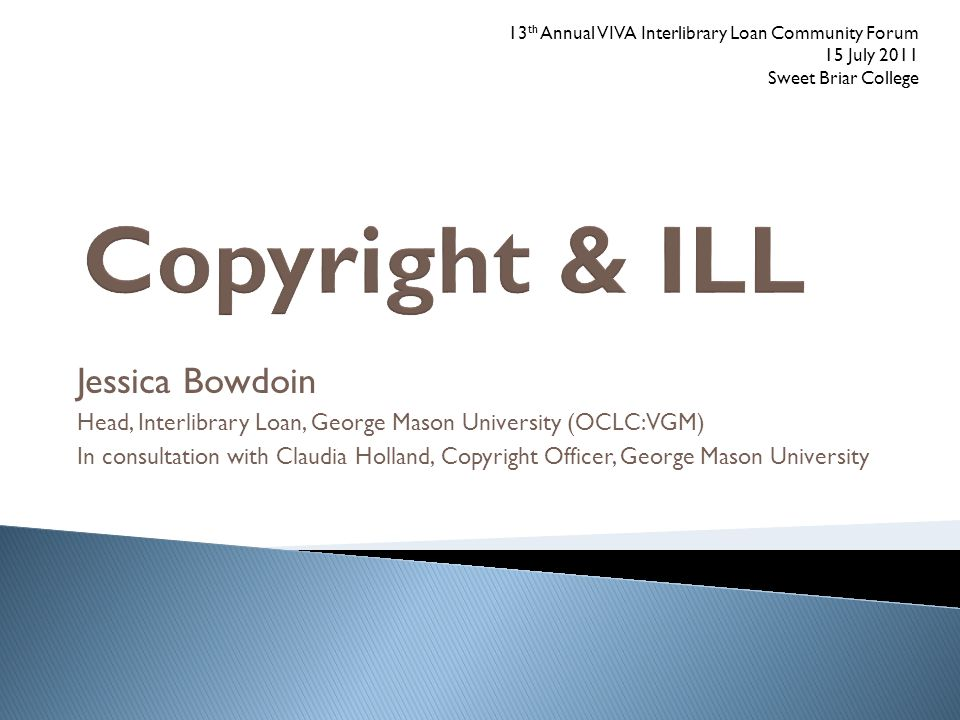 Copyright & ILL Jessica Bowdoin