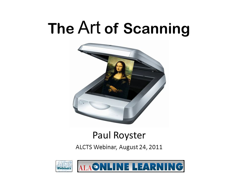 Paul Royster ALCTS Webinar, August 24, 2011