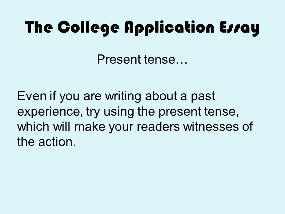 experiences to write about in college essay How to write a college application essay: from that moment or experience writing a college application essay.