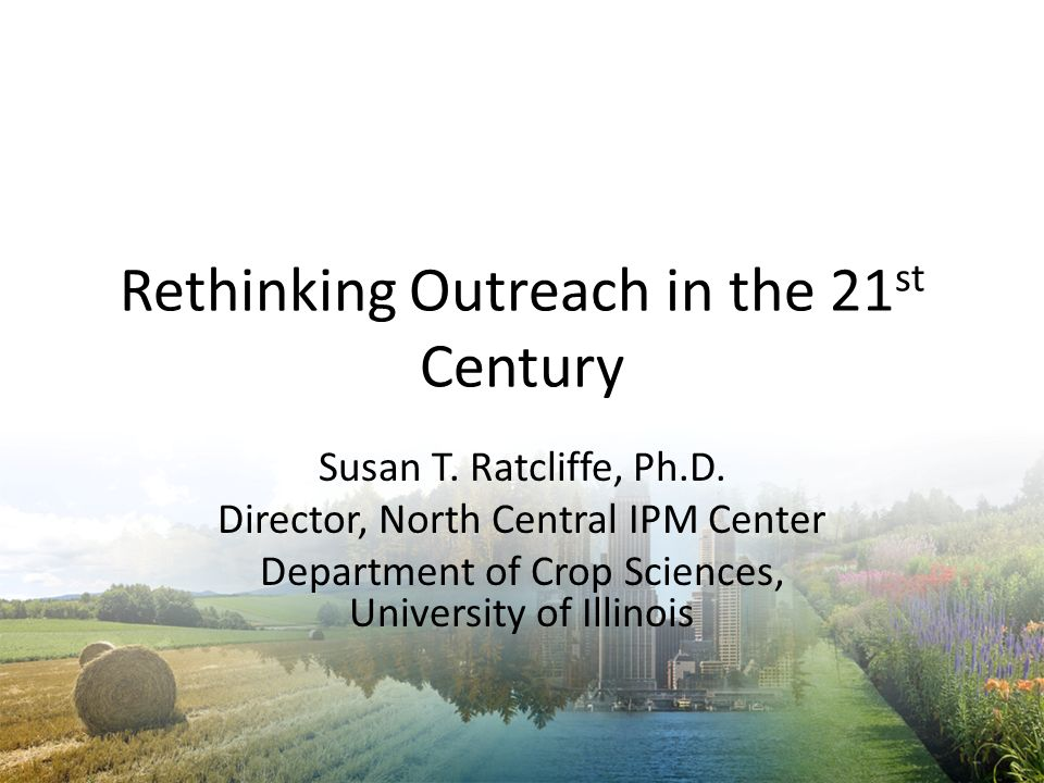 Rethinking Outreach in the 21st Century