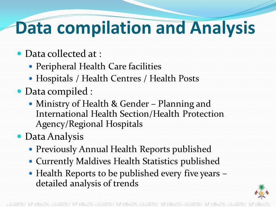 Data compilation and Analysis
