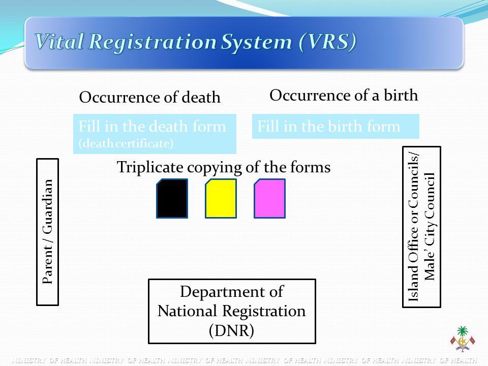 Vital Registration System (VRS)
