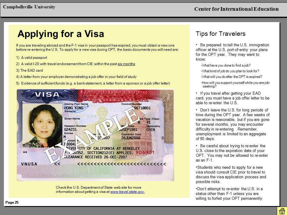Applying for a Visa Tips for Travelers Berkeley International Office
