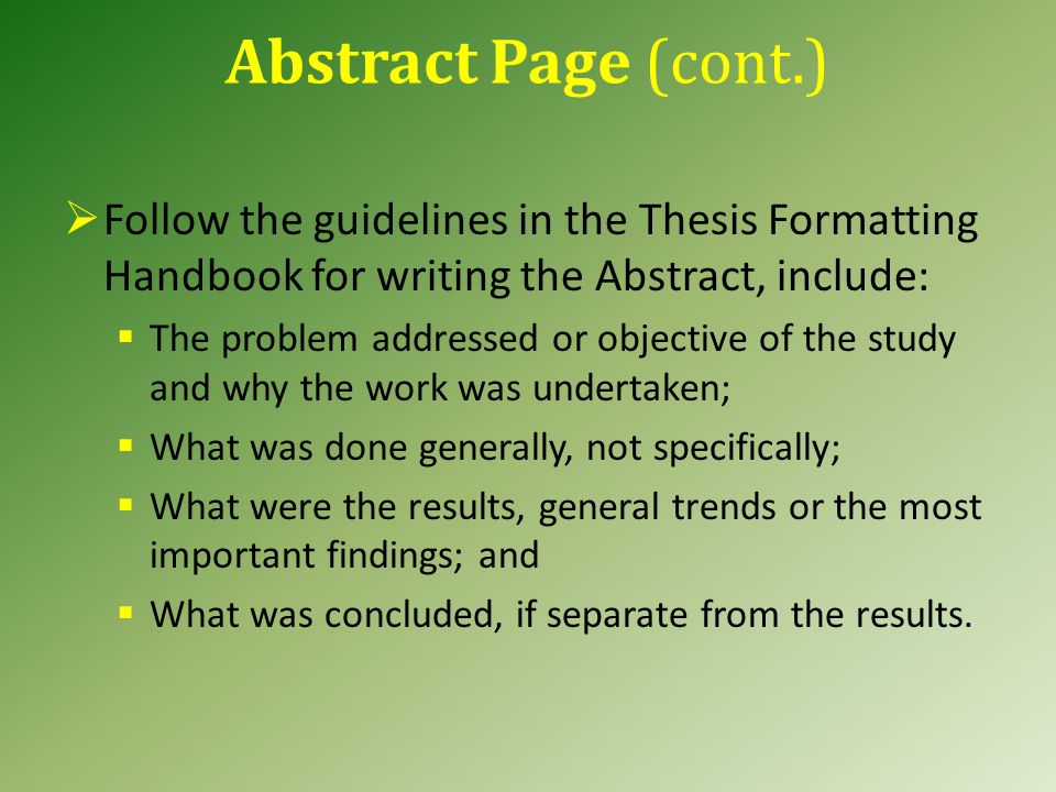 Common Formatting Mistakes for the Title Page