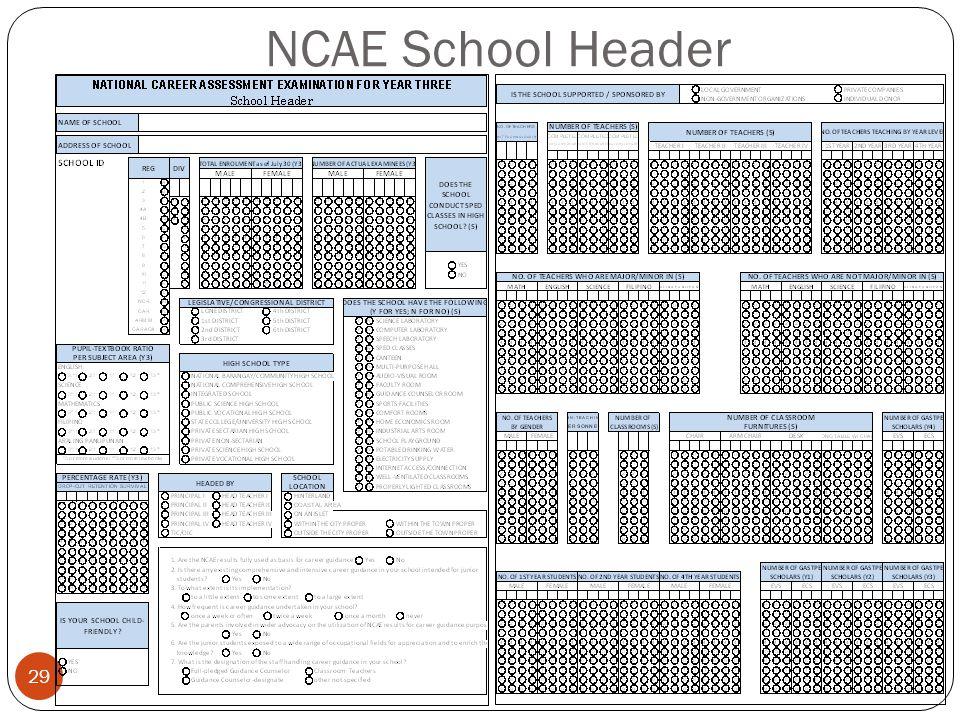 NCAE School Header