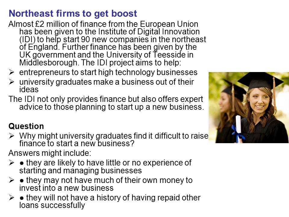 Northeast firms to get boost