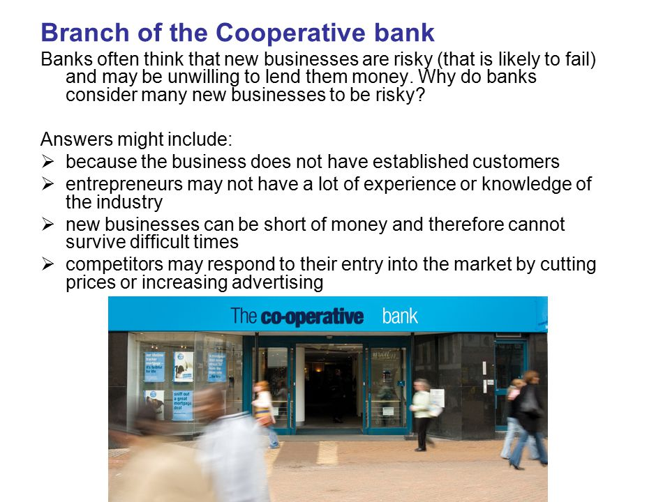 Branch of the Cooperative bank