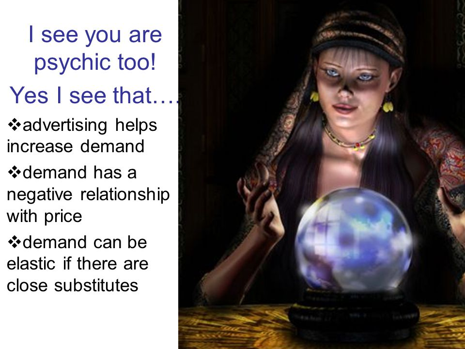 I see you are psychic too!