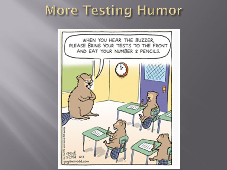 More Testing Humor
