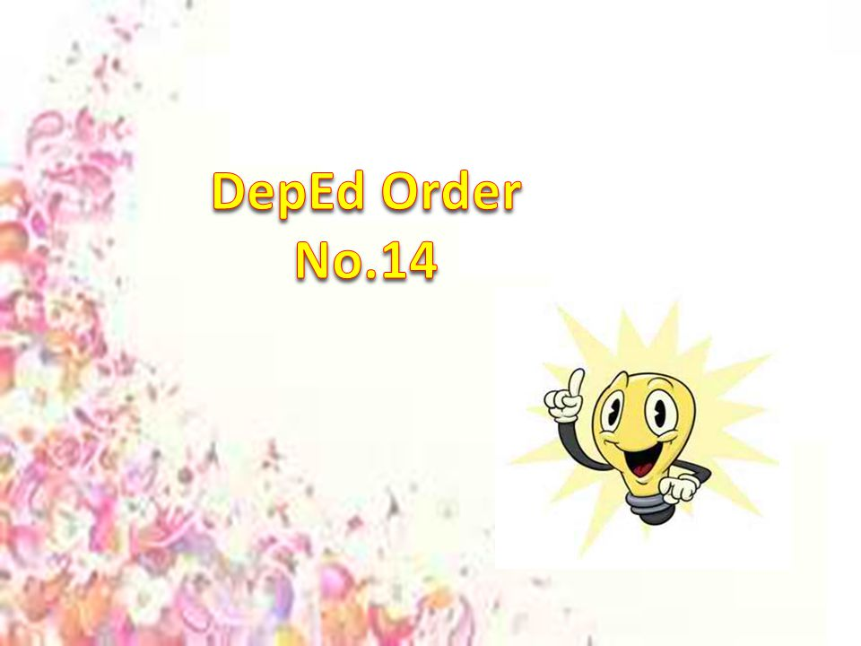 DepEd Order No.14