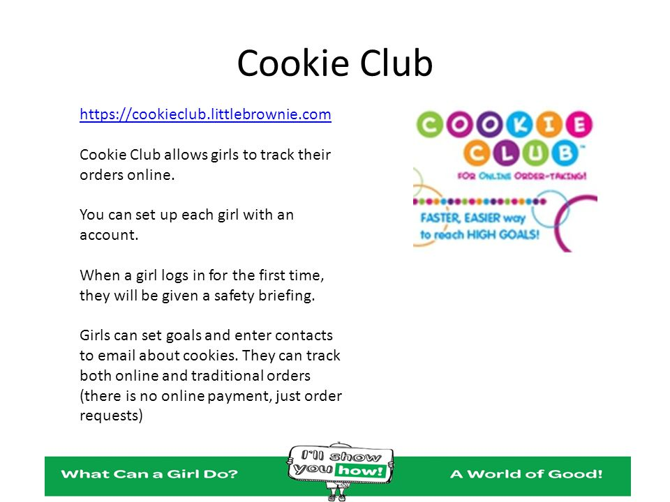 Cookie Club https://cookieclub.littlebrownie.com