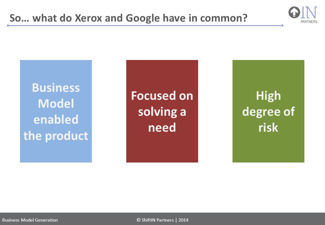 So… what do Xerox and Google have in common
