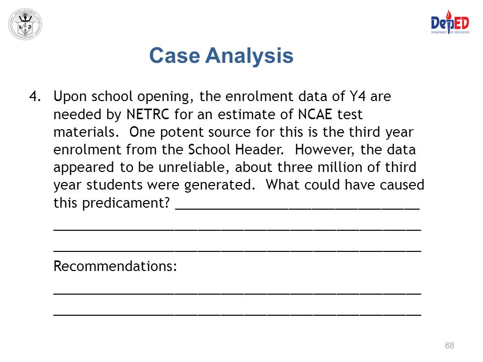 Case Analysis