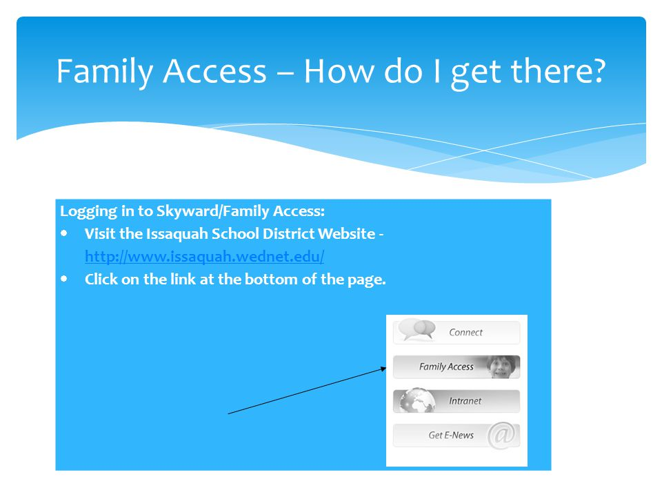Family Access – How do I get there