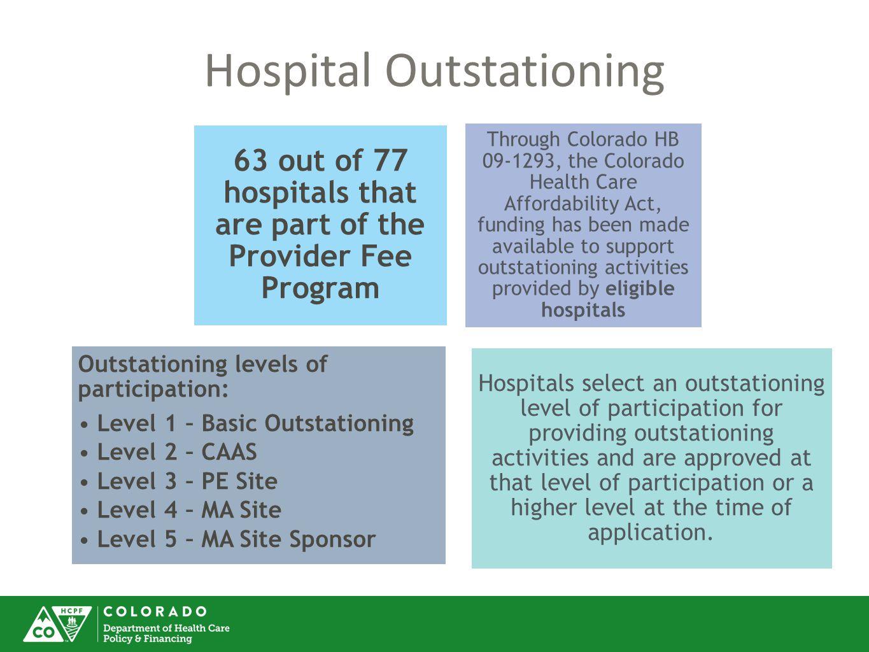 Hospital Outstationing