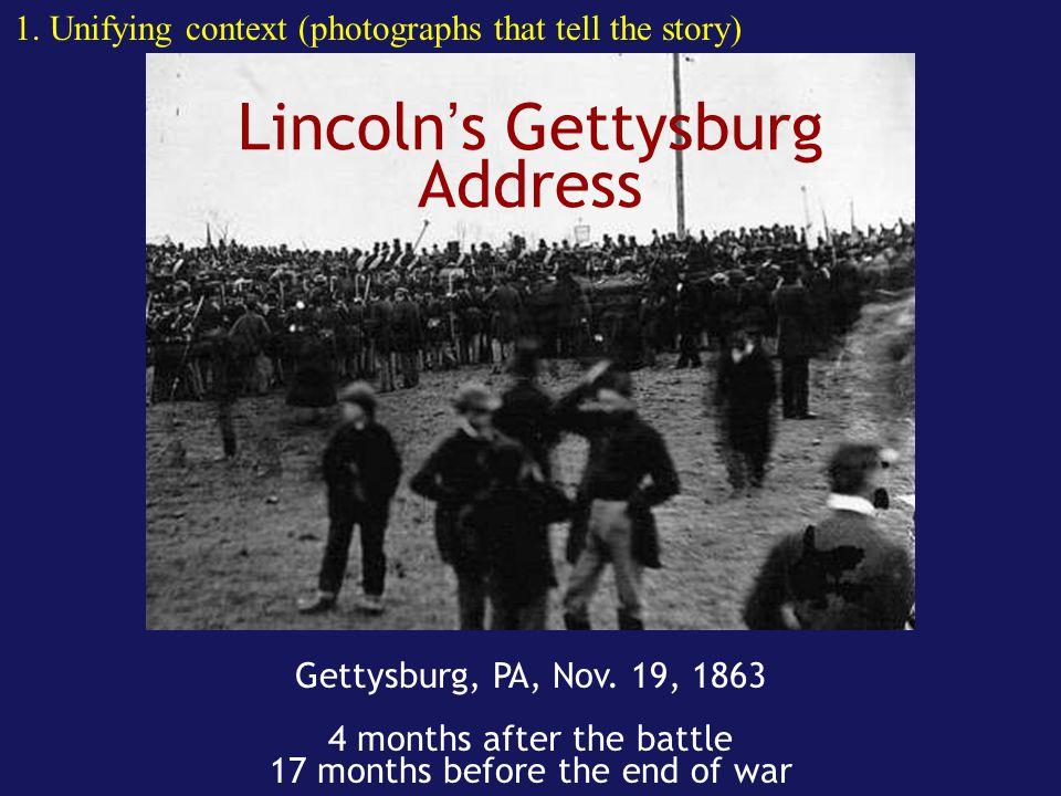 Lincoln's Gettysburg Address