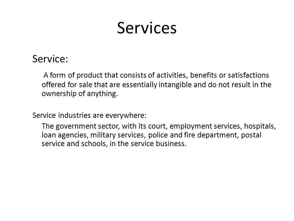 Services Service: