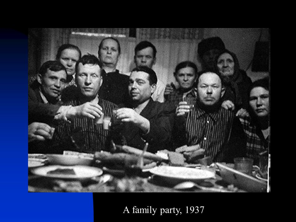 A family party, 1937
