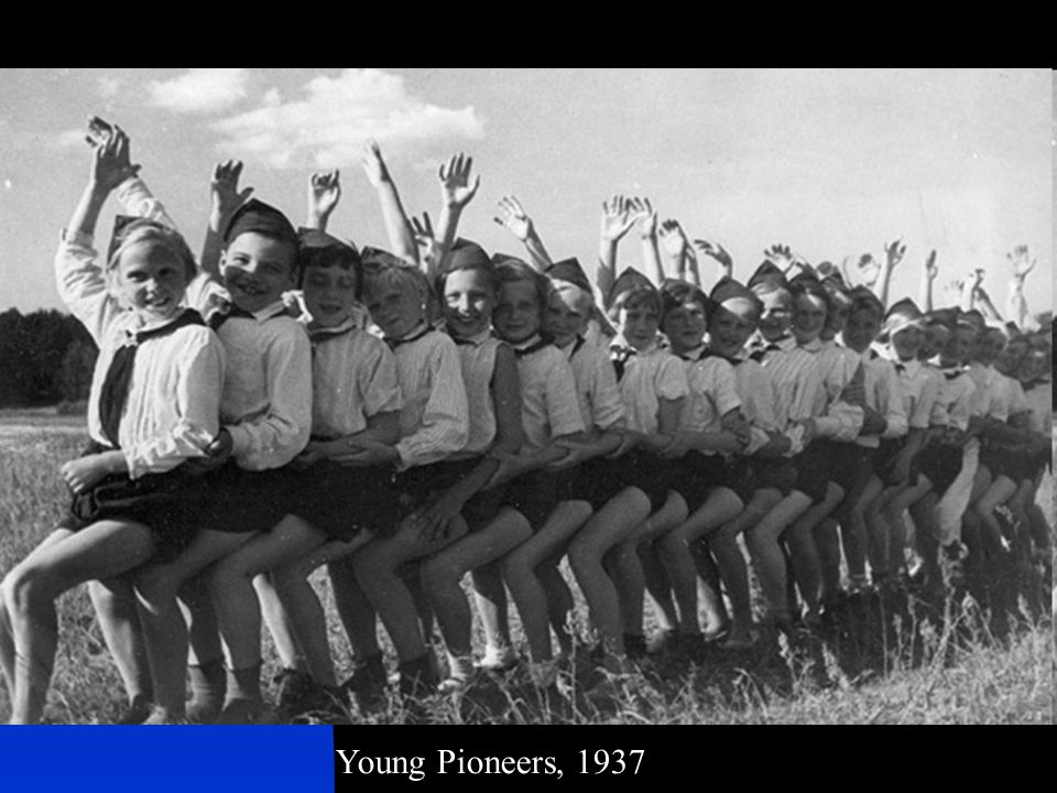 Young Pioneers, 1937
