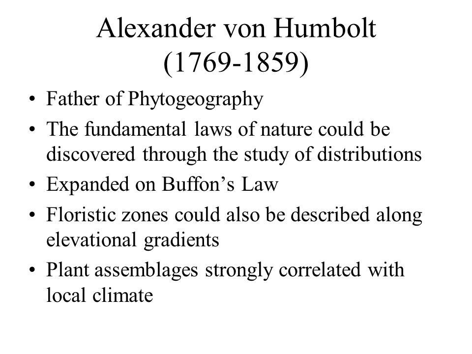 Alexander von Humbolt (1769-1859)