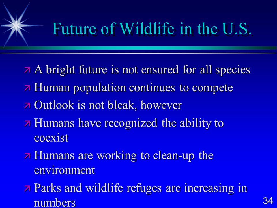 Future of Wildlife in the U.S.