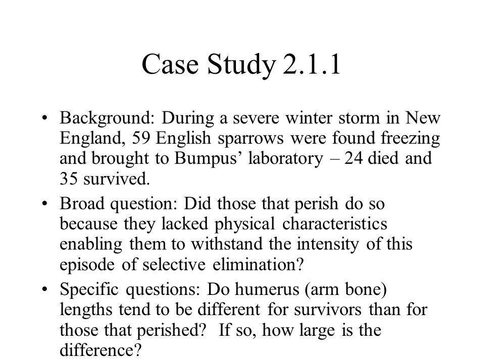 Case Study 2.1.1