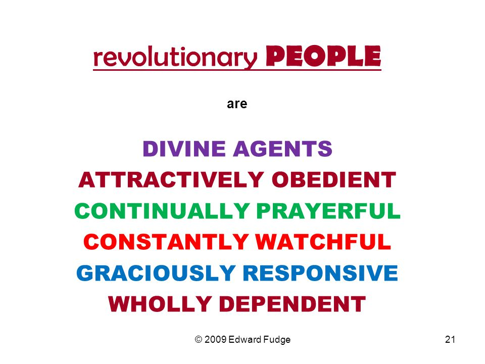 ATTRACTIVELY OBEDIENT CONTINUALLY PRAYERFUL