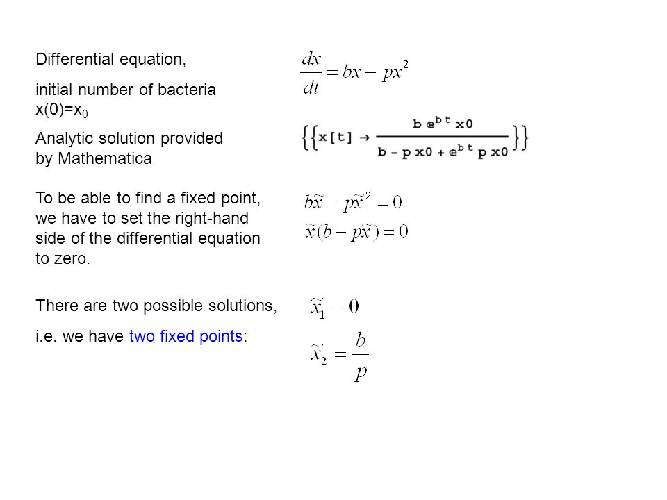 Differential equation,