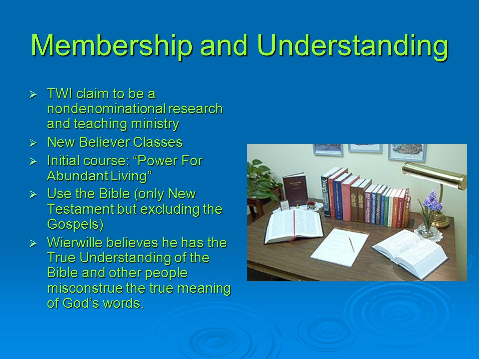 Membership and Understanding